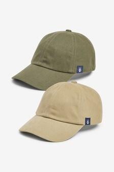 Khaki/Stone Caps Two Pack