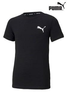 Puma Black Logo T-Shirt