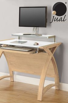 Helsinki 900 Oak Desk by Jual