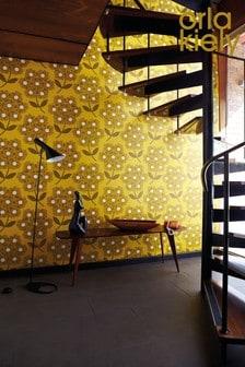 Orla Kiely Giant Rhodedendron Wallpaper