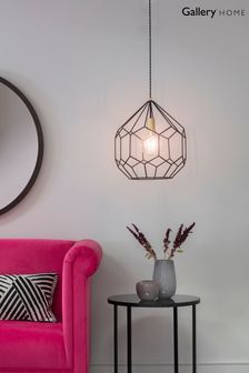 Cage Pendant Light by Gallery Direct