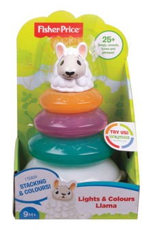 Fisher-Price Linkimals Lights & Colours Stacking Llama