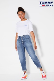 Tommy Jeans Blue Recycled Mom Jeans