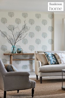 Sanderson Home Bay Tree Wallpaper