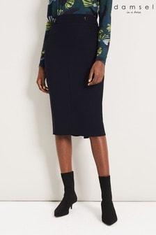 Damsel In A Dress Blue Margot City Suit Skirt