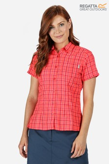 Regatta Womens Mindano V Short Sleeve Shirt