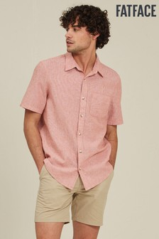 FatFace Apricot Bugle Micro Stripe Shirt