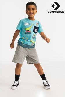 Converse Younger Boy T-Shirt And Shorts Set