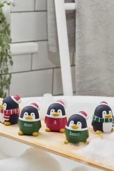 Set of 5 Penguin Bath Buddies