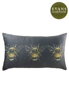 Gold Bee Cushion by Evans Lichfield