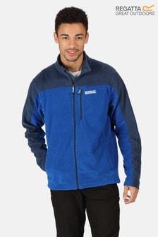 Regatta Blue Fellard Full Zip Fleece Jacket