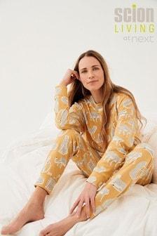 Orange Lionel Scion At Next Cotton Pyjamas