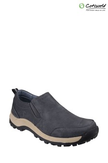 Cotswold Blue Sheepscombe Slip On Shoes