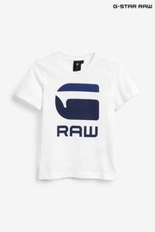 G-Star White T-Shirt