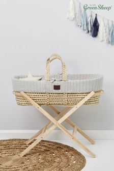 Dove The Little Green Sheep Moses Basket
