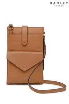 Radley Tan Wilton Way Medium Phone Cross Body Bag