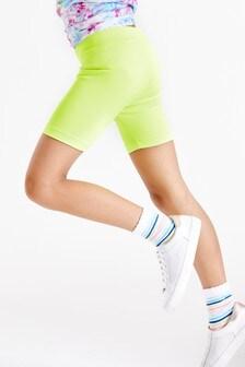 Lime Sports Cycling Shorts (3-16yrs)