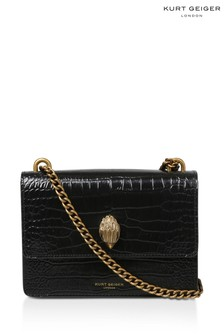 Kurt Geiger London Shoreditch Black Printed Cross Body Bag