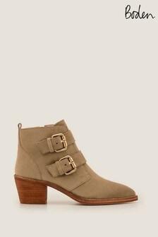 Boden Camel Aberdeen Ankle Boots