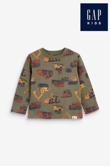 Gap Digger Graphic Long Sleeve T-Shirt