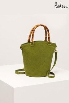 Boden Green Daria Bucket Bag