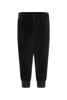 Baby Black Chenille Joggers