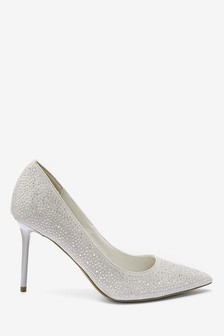 Grey Embellished High Courts