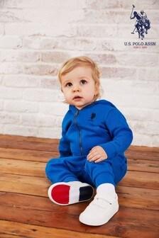 U.S. Polo Assn. Blue Core Sweat Set