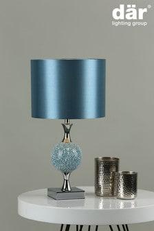 Dar Lighting Blue Elsa Table Lamp
