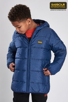 Barbour® International Boys Court Quilted Jacket