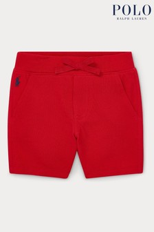Ralph Lauren Red Logo Shorts