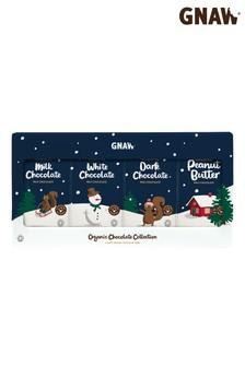 Gnaw Organic Chocolate Bar Christmas Gift Set