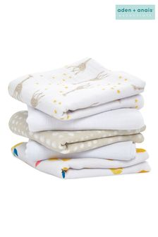 aden + anais Starry Star Essentials Muslin Squares Five Pack