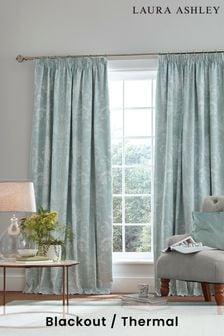 Laura Ashley Josette Pencil Pleat Curtains