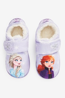 Lilac Disney™ Frozen 2 Cupsole Slippers (Younger)