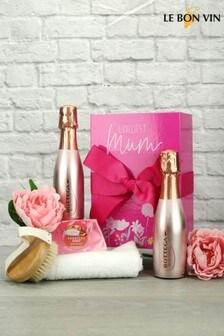 Loveliest Mum Sparkling Rosé Spa Gift Set by Le Bon Vin