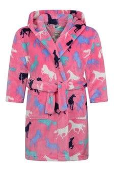 Girls Pink Robe