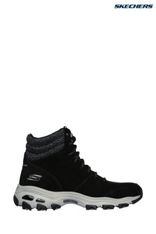 Skechers® Black D'Lites - Chill Flurry Trainers