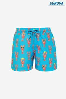 Sunuva Blue Lobster Swim Shorts