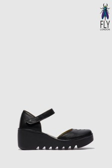 Fly London Closed Toe Wedge Shoes