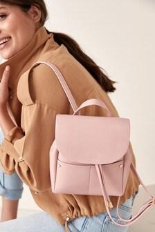 Pink Mini Smart Casual Rucksack