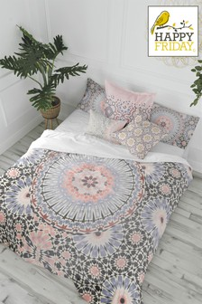 Happy Friday Bohemia Duvet Cover and Pillowcase Set
