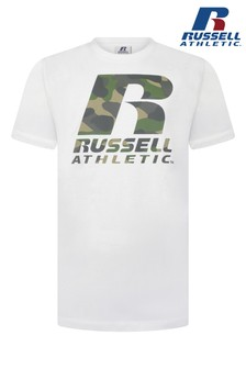 Russell Athletic Camo Logo T-Shirt