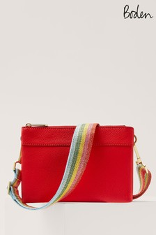 Boden Red Clementine Cross Body Bag