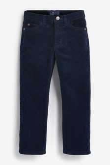 Navy Cord Trousers (3-16yrs)