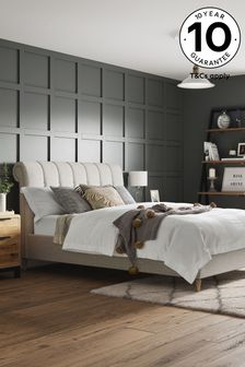 Wool Blend Stone Hargrave Bed