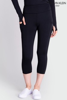 Calvin Klein Golf Black Capri Leggings