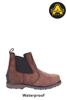 Amblers Safety Brown AS148 Sperrin Lightweight Waterproof Dealer Safety Boots
