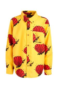 Kids Yellow Shell Woven Shirt