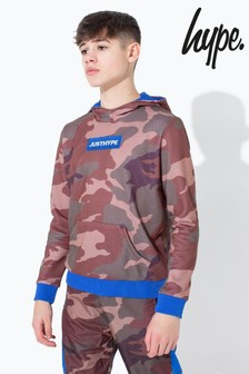 Hype. Northern Camo Kids Pullover Hoody